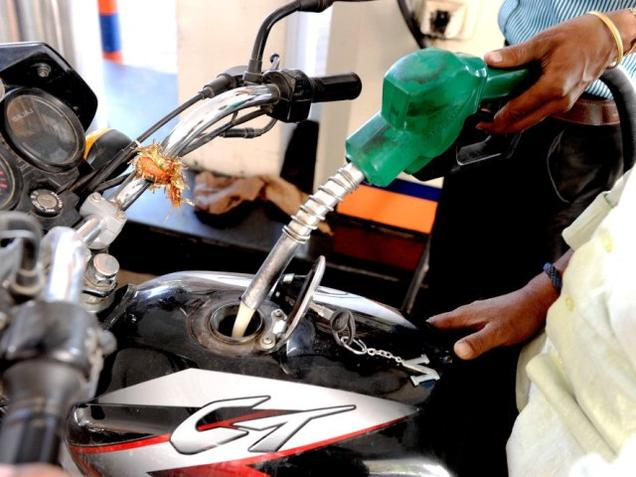Petrol prices hiked by Rs 3.07 , diesel by Rs 1.90