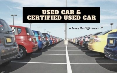 Used Car & Certified Used Car – Learn the Differences