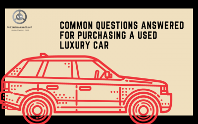 Common Questions Answered for Purchasing a Used Luxury Car